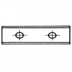 Plaquettes HW réversibles à jeter UMG04, 2 coupes